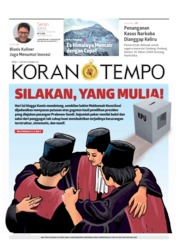 Cover Koran TEMPO 24 Juni 2019