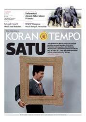 Koran TEMPO Cover 28 June 2019