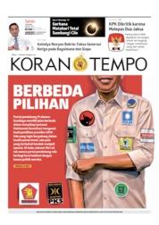 Koran TEMPO Cover 01 July 2019