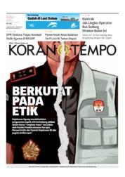 Koran TEMPO Cover 03 July 2019