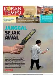 Cover Koran TEMPO 06 Juli 2019