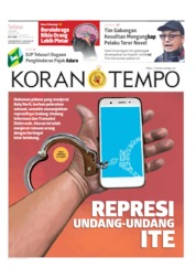 Koran TEMPO Cover 09 July 2019