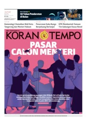 Koran TEMPO Cover 19 July 2019