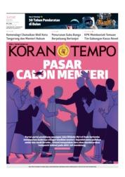 Cover Koran TEMPO 19 Juli 2019