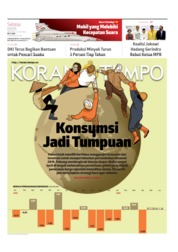 Cover Koran TEMPO 23 Juli 2019