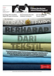 Koran TEMPO Cover 24 July 2019
