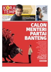 Koran TEMPO Cover 10 August 2019