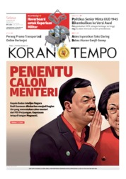Koran TEMPO Cover 13 August 2019
