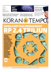 Koran TEMPO Cover 14 August 2019