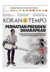 Koran TEMPO Cover 28 August 2019