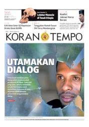 Koran TEMPO Cover 02 September 2019
