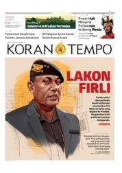 Koran TEMPO Cover 03 September 2019
