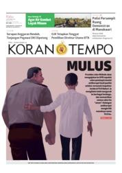 Koran TEMPO Cover 04 September 2019