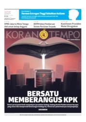 Koran TEMPO Cover 06 September 2019