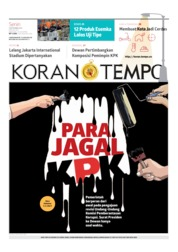Cover Koran TEMPO 09 September 2019