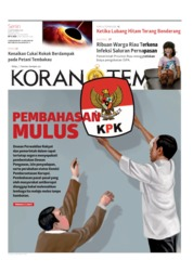 Cover Koran TEMPO 16 September 2019