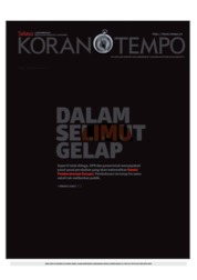 Koran TEMPO Cover 17 September 2019