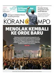 Koran TEMPO Cover 20 September 2019