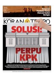 Koran TEMPO Cover 23 September 2019