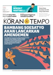 Koran TEMPO Cover 09 October 2019