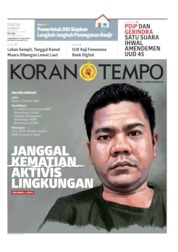 Koran TEMPO Cover 10 October 2019