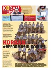 Cover Koran TEMPO 12 Oktober 2019