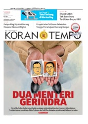 Koran TEMPO Cover 15 October 2019