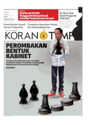 Koran TEMPO Cover 16 October 2019