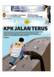 Koran TEMPO Cover 17 October 2019