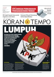 Koran TEMPO Cover 18 October 2019