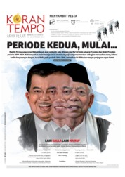 Koran TEMPO Cover 19 October 2019