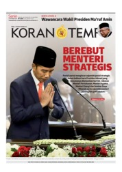 Koran TEMPO Cover 21 October 2019