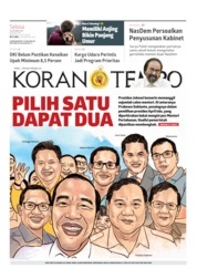 Koran TEMPO Cover 22 October 2019