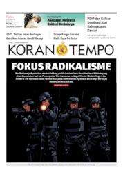 Cover Koran TEMPO 23 Oktober 2019