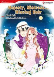 Cover Majesty, Mistress…Missing Heir oleh Caitlin Crews
