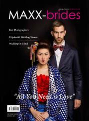 MAXX-brides Magazine Cover ED 01 2015