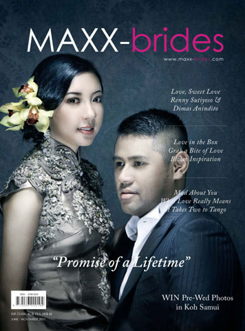 MAXX-brides Magazine Cover June–November 2011