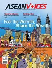 Cover Majalah ASEAN VOICES ED 24 Desember 2017