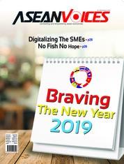 Cover Majalah ASEAN VOICES ED 36 Januari 2019