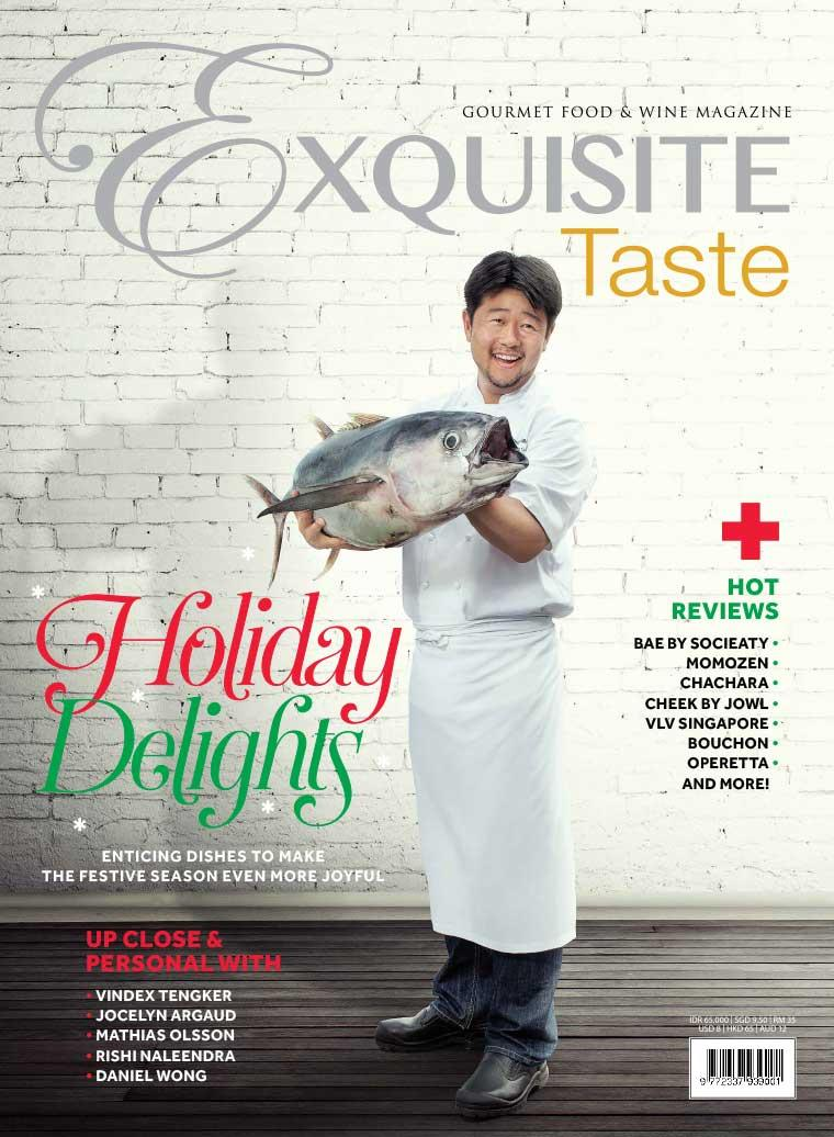 Majalah Digital EXQUISITE TASTE Desember–Januari 2018