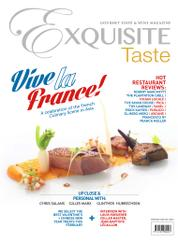 EXQUISITE TASTE Magazine Cover February–April 2015