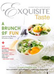EXQUISITE TASTE Magazine Cover November–January 2016