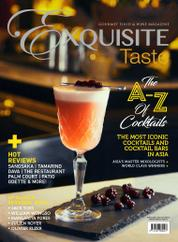 EXQUISITE TASTE Magazine Cover August–October 2016