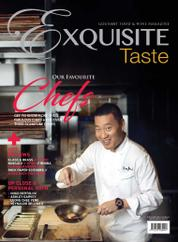 EXQUISITE TASTE Magazine Cover April–May 2017