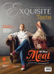 EXQUISITE TASTE Magazine Cover June–July 2017