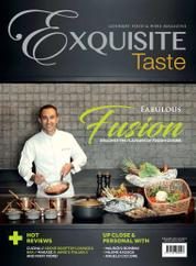 EXQUISITE TASTE / OCT–NOV 2017 Magazine Cover 0CT–November 2017
