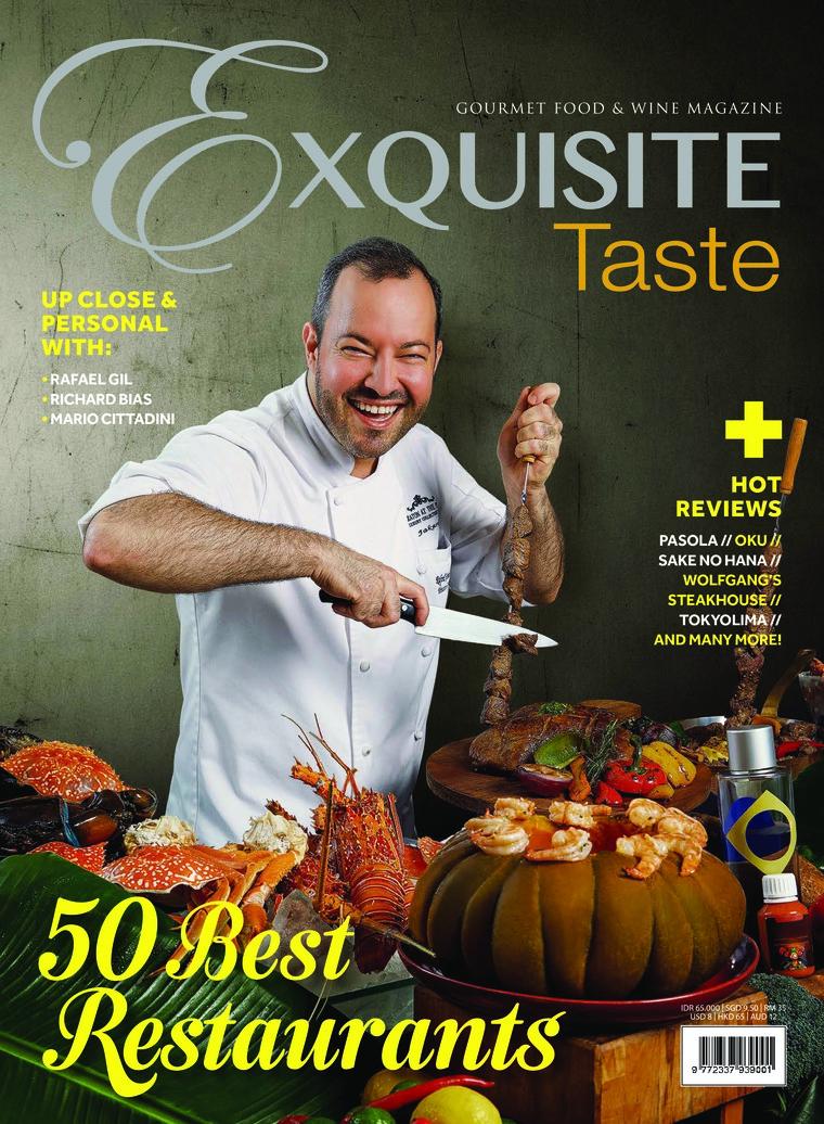 Majalah Digital EXQUISITE TASTE April–Mei 2018