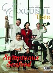 Cover Majalah EXQUISITE TASTE Juni-Juli 2018
