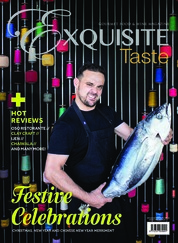 EXQUISITE TASTE Magazine Cover December-February 2019