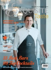 EXQUISITE TASTE Magazine Cover ED 03 August 2019